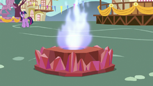 Flame of Friendship torch burning S7E15.png