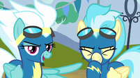 """Fleetfoot """"came down right on Spitfire's hoof"""" S6E7"""