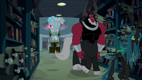 Legion of Doom searching the Archives S9E17