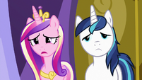 """Princess Cadance """"had a great time without us"""" S7E3"""