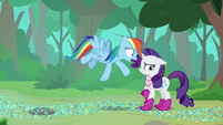 """Rainbow """"giving me all that grief"""" S8E17"""