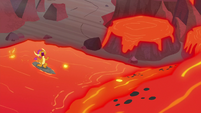 """Smolder """"are we lava surfing or what?"""" S9E9"""