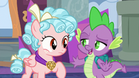 """Spike """"anything else is a piece of cake"""" S8E25"""