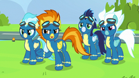 Spitfire -time to spend with her family- S7E7