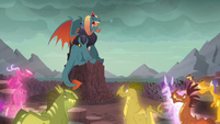 Torch --I have been Dragon Lord for longer than many of you can remember-- S6E5