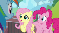 """Fluttershy """"I'm excited to see"""" S9E15"""
