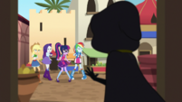 Juniper is discovered by the Equestria Girls EGS2