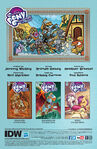 Legends of Magic issue 2 credits page