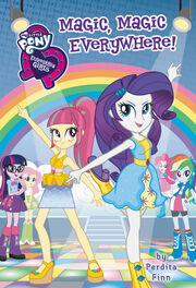 Portada del libro Equestria Girls Magic, Magic Everywhere!.jpg