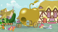 S3E04 apple bloom dragging a mattress