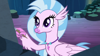 Silverstream painting on the cave walls S9E3