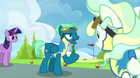 """Sky Stinger """"can we switch now?"""" S6E24"""
