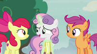 """Sweetie Belle """"we'll have to improvise"""" S7E8"""