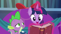 "Twilight ""Snowfall was all set to cast her spell"" S06E08"