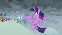 "Twilight ""everycreature here has reminded me"" S9E25"