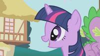 """Twilight """"is Applejack all set?"""" S1E04"""