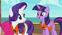 Twilight Sparkle --a tri-horned bunyip!-- S6E22