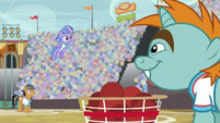 All of Wind Sprint's buckballs land in the bucket S9E6