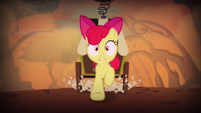 Apple Bloom running through swamp S4E17