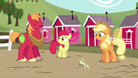 "Big Mac responds ""Eeyup!"" to Apple Bloom's question S5E17"