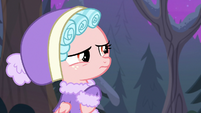 Cozy disturbed by Chrysalis' cocooning S9E8