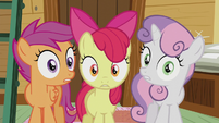 Cutie Mark Crusaders shocked -we are-!- S5E18
