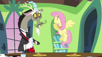 """Fluttershy and Discord """"why, of course!"""" S03E10"""