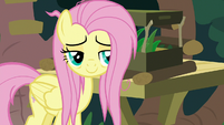 Fluttershy happy for the gecko S9E18