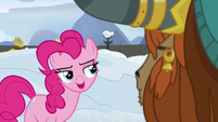 Pinkie -you know who would really, really enjoy- S7E11