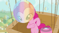 Pinkie Pie 'What's a birthday party without bubbles and balloons' S4E12