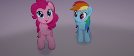 Pinkie Pie excited about the clowns she ordered MLPTM