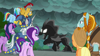 """Pony of Shadows """"you six will bow to me!"""" S7E26"""