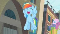 Rainbow '...the best musical in all of Equestria!' S4E08