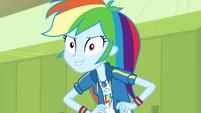 Rainbow Dash continues being a braggart EGDS4