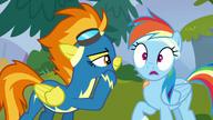 S06E07 Spitfire zdradza Rainbow swoje przezwisko