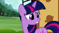 Twilight Sparkle turning to Dash S2E21