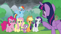 Twilight making a plan of attack S9E25