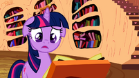 Twilight realizes there is no known cure for the cutie pox S2E06