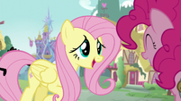 Fluttershy -You were in such a rush earlier- S5E19