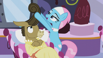 Lotus Blossom -once did a pony's hair during the ceremony- S5E9