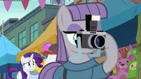 Maud Pie taking picture of fissure S6E3