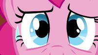 Pinkie Pie face sweat rolling down S3E3