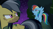 Rainbow Dash -I'll be quiet now- S4E04