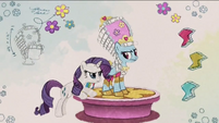 Rarity designing outfit for Rainbow Dash RPBB3
