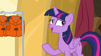 "Twilight Sparkle ""I don't think that's how it works"" S7E22"