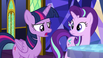 "Twilight Sparkle ""we can't do it all alone"" S8E1"
