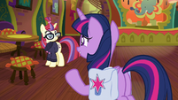 Twilight happy to see Moon Dancer S9E5