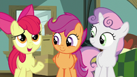 "Apple Bloom ""chances of that are so rare"" S9E12"