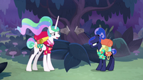 """Celestia """"how did the rest of your day go?"""" S9E13"""