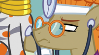 Dr. Horse disturbed by Zecora's heartbeat S7E20